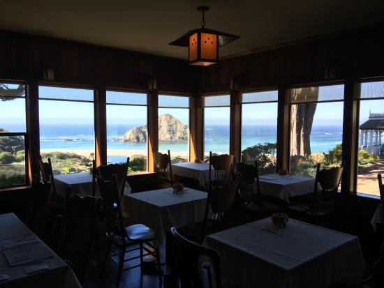 The Elk Cove Inn & Spa: Gorgeous Dining Room View!
