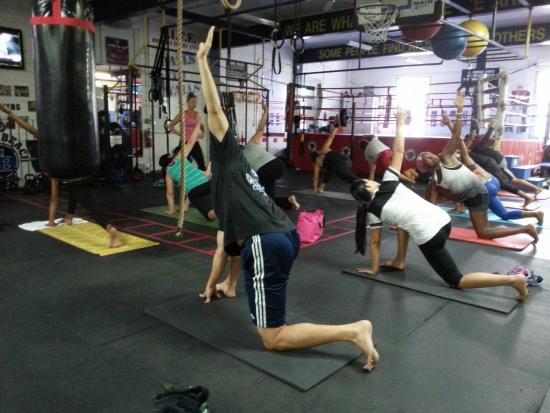 South Beach Boxing Yoga Cl