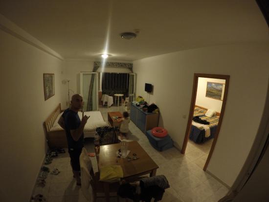 Compostela Beach Golf Club: livingroon