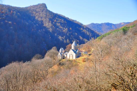 Mariam Ghazarian - Private Tours: Hagharstin Monastery