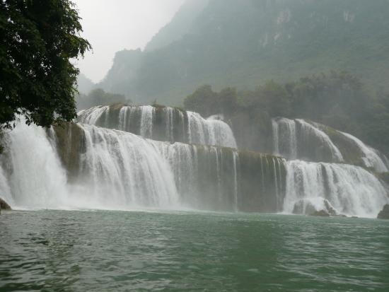 Cao Bang, Wietnam: Bản Giốc waterfall 2012
