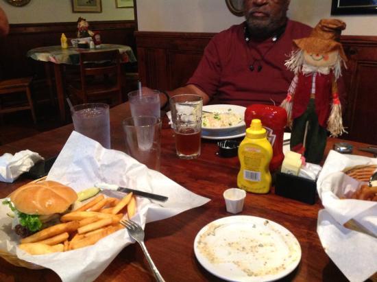 Big Elk burger, - Picture of Jimmy Mac's Restaurant, Bryson City
