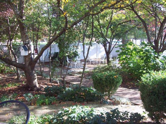 Berkeley Springs, Западная Вирджиния: garden