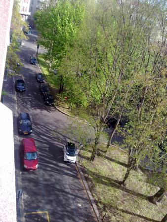 Idea Hotel Milano Corso Genova: View from our room