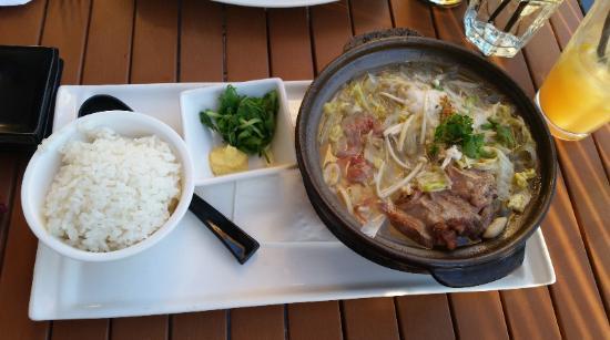 Three Samurai Japanese Restaurant : Ox Tail Soup