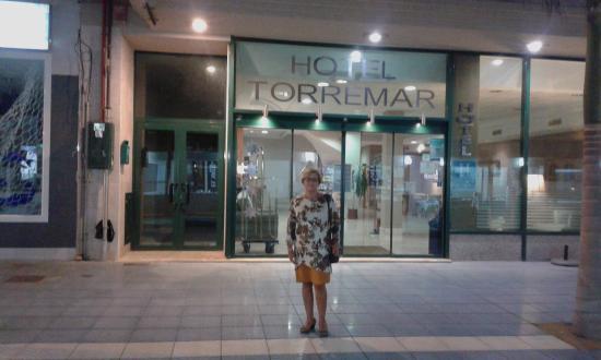 Torremar Hotel: entrada del hotel