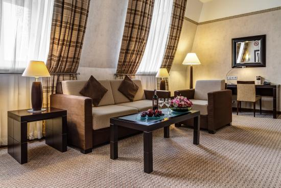 Suite at Polonia Palace Hotel Warsaw