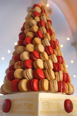 Macaron Cake Tower by Buona Terra