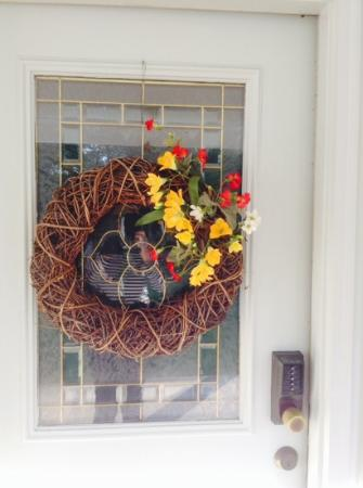Captain Stannard House Bed and Breakfast Country Inn: Fall decorations