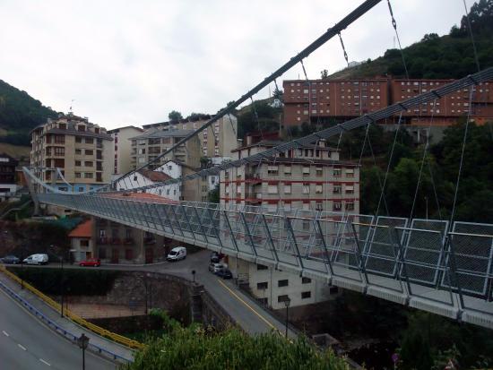 Puente Colgante Cangas del Narcea