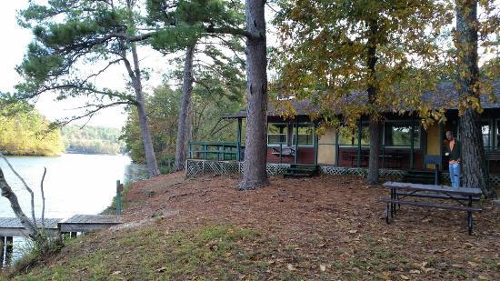 Lake Catherine State Park Cabins: 20151026_085049_large.jpg