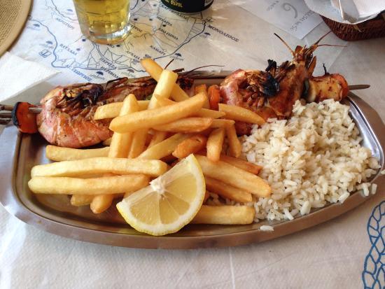 Thirassia, Yunani: restaurante