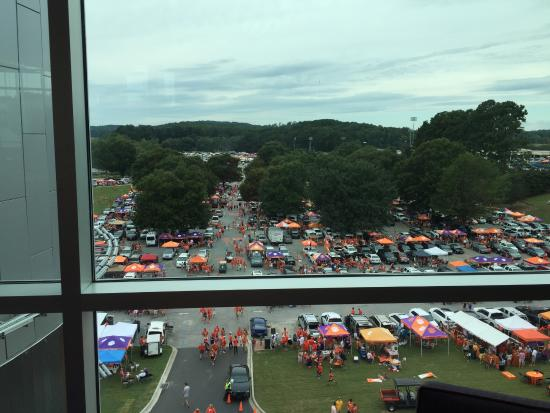 The Walker Course At Clemson University: Lot % Home of Tiger Walk and Tailgate Central