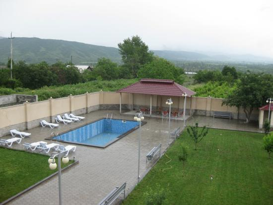 Misaktsieli, Georgia: территория отеля