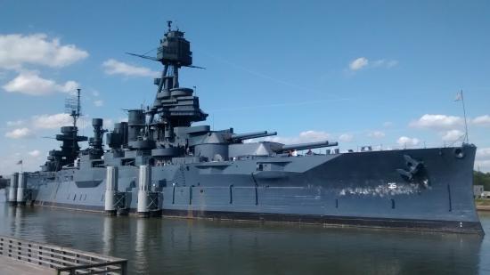 Battleship Texas, La Porte - Texas - Picture of Battleship Texas ...