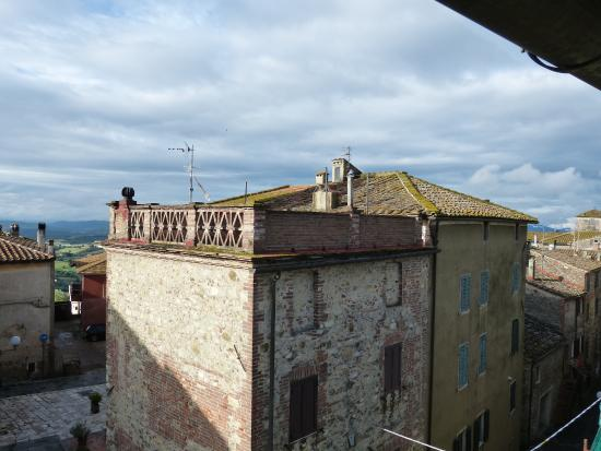 La Locanda nel Cassero: great view from our room