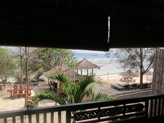 Alam Gili: View from the terrace (Duyung room)