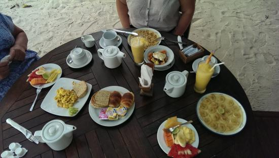 Alam Gili: Breakfast for 3