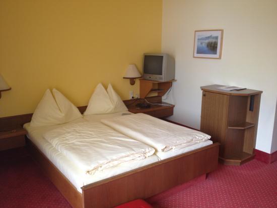 Schlogen, Austria: Schlafzimmer Donaublick