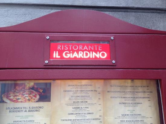 Il Giardino: Италия