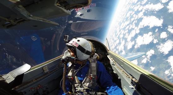 view in cockpit of MiG-29 - Picture of MIG-29 Flight, Moscow