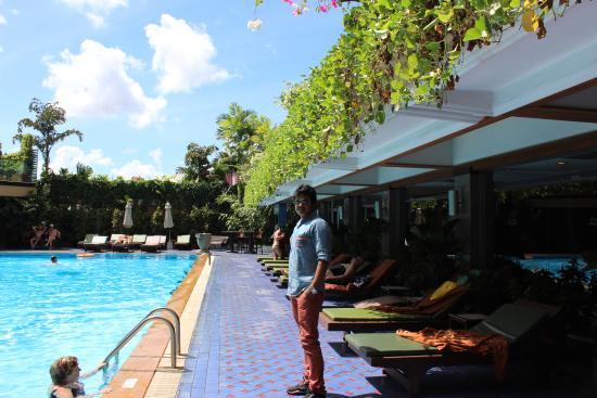 Pool Area Picture Of Golden Beach Hotel Pattaya Tripadvisor