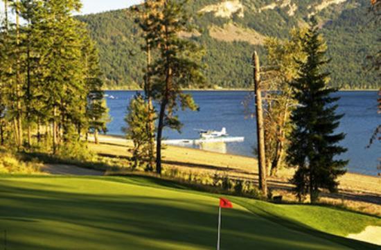 Quaaout Lodge & Spa at Talking Rock Golf Resort: Th Green
