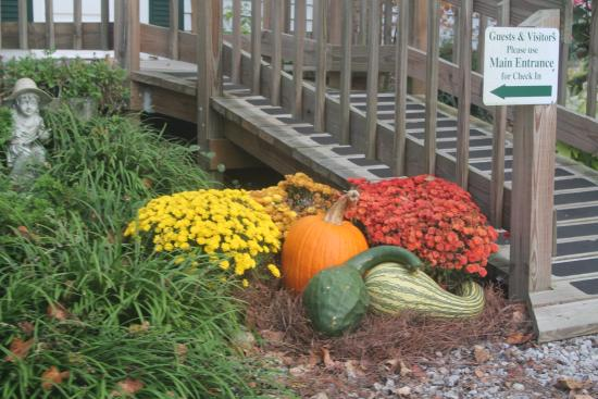 Chilhowee Inn: Landscaping adds a flair