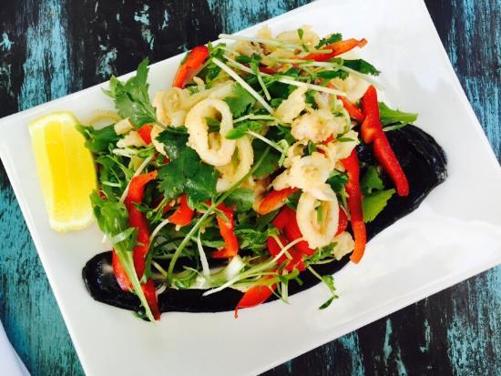 Burwood, Australië: 十分舒服的小餐厅,口味很好?服务也很热情。