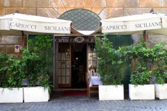 Capricci Siciliani : Ресторан