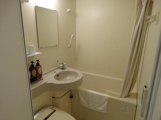 Route Inn Tsu : ユニットバスですが大浴場を使いました