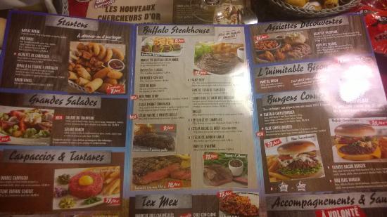Buffalo grill la fouillouse restaurant avis num ro de t l phone photos tripadvisor - Menu buffalo grill tarif ...