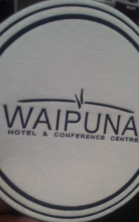 Waipuna Hotel & Conference Centre: napkin