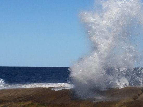 Bicheno by the Bay: The Blowhole (a short walk away)
