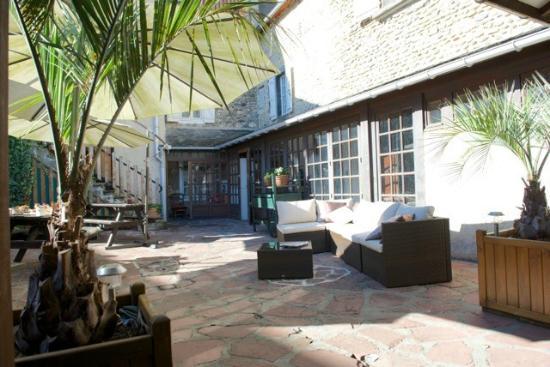 Relais Aspois : Terrasse