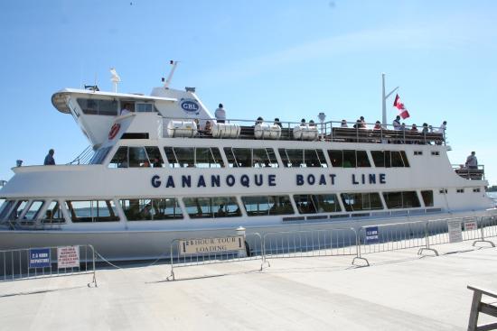 Gananoque, Canada: これに乗船