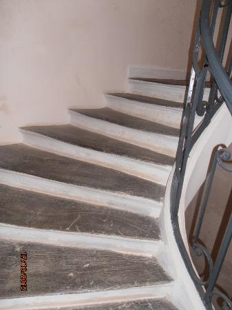 Special Apartments: Stairs to the apartment