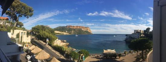 Hotel de la Plage Mahogany: Panorama view from our room