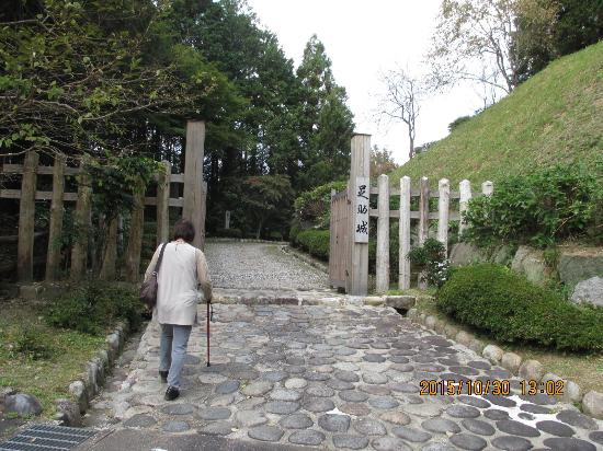 Joshi Park Asuke-jo Castle: 城跡公園入り口