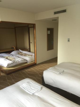 Hotel Awina Osaka: 部屋のようす