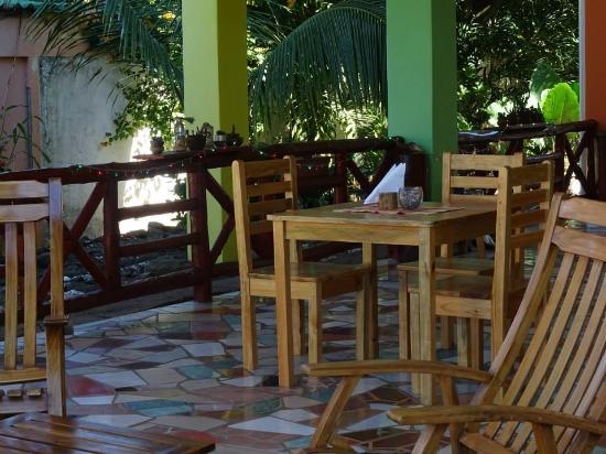 Restaurante en el hotel casa de pacifico Masachapa playa