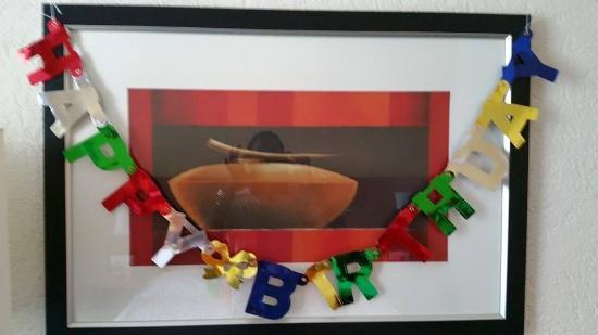 H+ La Palma Hotel & Spa Locarno: happy birthday to me