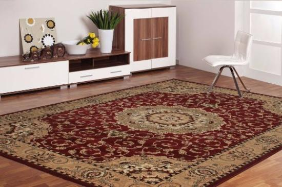 Miras Floor Area Silk Carpet - Picture
