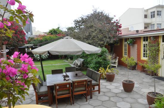 Villa Margherita: jardin
