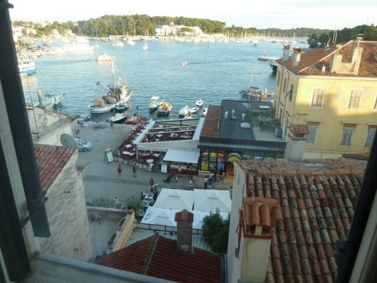 Villa Tuttorotto: vue de notre chambre