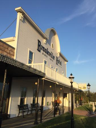 Brookville Hotel Restaurant Facade Abilene Kansas