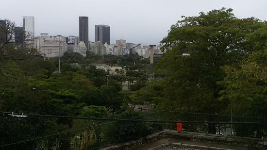 Golden Park Hotel: vista da janela do quarto