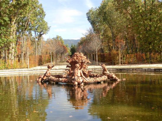 El mar picture of jardines de la granja de san ildefonso for Jardines san ildefonso