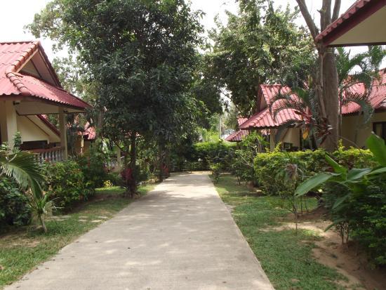 Chor Chang Villa Resort : Дорожка