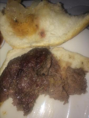 Restaurante HPC Portocolom : Burger 'Medium Rare'! Ist in jedem MC Donald's saftiger